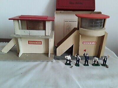 Hornby Meccano Ho Postes N°2 ET PERSONNAGES PLOMB • 40€