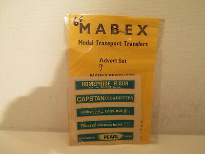 Rare Mabex 9 Pearl Ads Original Decals Sheets Planche Decalques Originales Ho O  • 12€