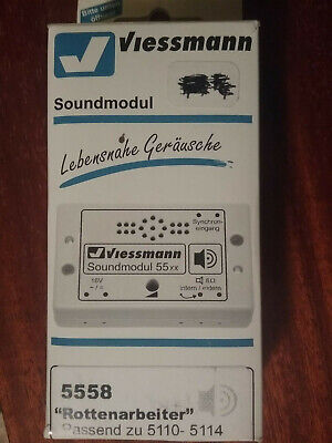 Ho Viessmann Soundmodul 5558 Sons D' Ouvriers Neuf New Rottenarbeiter • 24€
