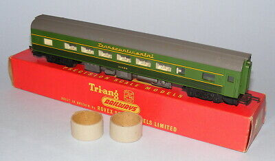 Triang Railways R338 Two-tone Green Transcontinental Diner Near Mint Boxed • 100.68€
