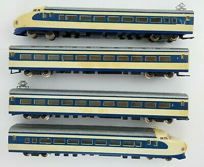 Lima HO Scale Shikansen 0 Series Original 4-Car Tokaido Japanese Bullet Train  • 28.92€