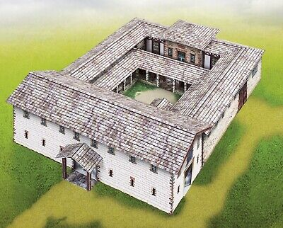 Card Model Kit – Roman Military Headquarters • 18.02€