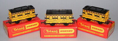 Triang Hornby Oo R621 Stephensons Rocket Coaches Despatch + Experience + Times • 168.76€
