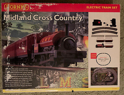 Hornby Rail Starter Kit Midland Cross Country R1027 Complete In Original Box. • 27.71€