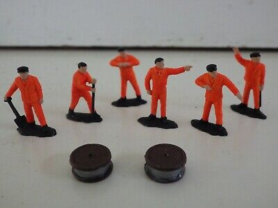 *  Network  Rail  *  Cable  Laying  Gang  6  Figures  Very  Good  Condition • 3.65€