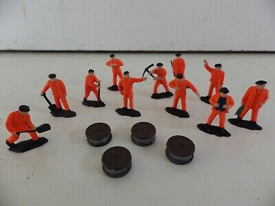 ** New ** Large  Network  Rail  Cable  Laying  Gang  ( 11 Figures ) Oo/ho Gauge • 6.73€