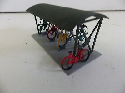Wills Bicycle Shed & Bicycles  BUILT   1   OO / HO • 8.43€