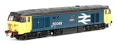 Dapol Class 50 049 Defiance BR Large Logo Blue N Gauge - Limited Edition • 171.71€