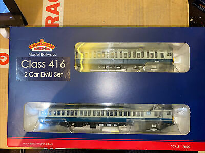 Bachmann OO 31-377 6238 BR Class 416 2 EPB Blue And Grey - Dcc Fitted Boxed • 117.93€