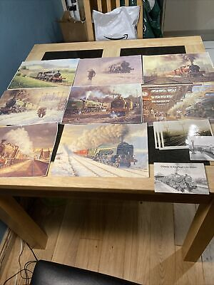 Steam Locomotive Paintings • 6.93€