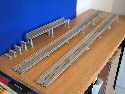 Playcraft Railways P688 Ramp Sections (12) & P681 Incline Pier Kit • 111.71€
