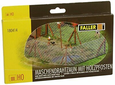 Faller 180414 Wire Mesh Fene With Poles Senery And Aessories • 29.29€