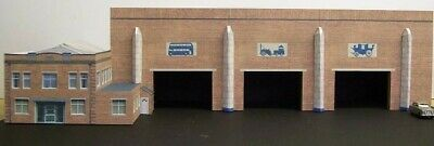 Kingsway, 00 Scale, Great Yarmouth Caister Road Bus Depot,  Kit Build Service. • 56.50€