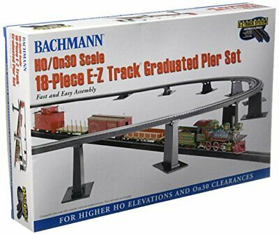 Bachmann Trains 18 PC. E-Z TRACK Graduated Pier Set (compatible With On30) • 55.04€