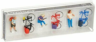 Preiser 10659 Cyclists Short Break With Bikes Package(3) HO Model Figure • 39.87€