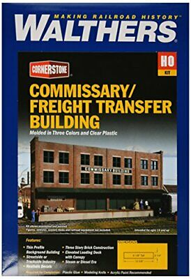 Walthers Cornerstone Series Kit Ho Scale Commissary/Freight Transfer • 64.29€