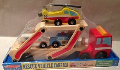 Melissa & Doug Classic Toy Rescue Vehicle Carrier • 49.57€