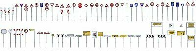 Faller 180534 Traffic Sign Set Scenery And Accessories Building Kit • 40.59€