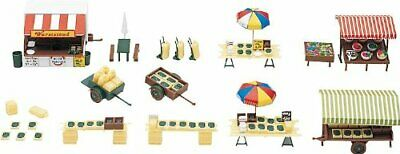 Faller 180582 Market Stands And Carts Scenery And Accessories Building Kit • 42.30€