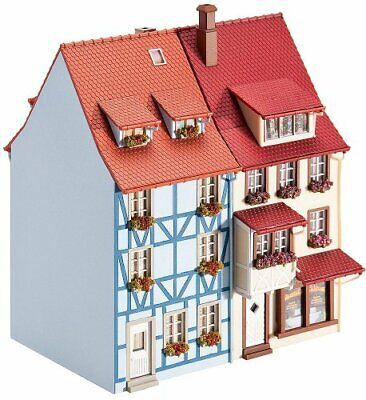 Faller 130495 Village Houses With Bay 2/HO Scale Building Kit • 69.94€