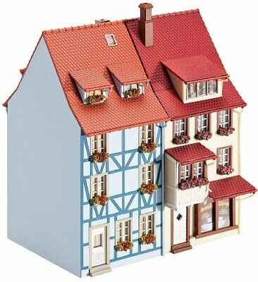 Faller 130495 Village Houses With Bay 2HO Scale Building Kit • 58.19€