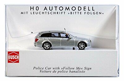 Busch 5635 MB Police With Follow Me Sign HO Scale Model Vehicle • 55.99€