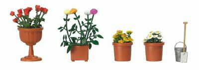 Busch 1230 Planted Flowerpots And Pail HO Scenery Scale Model • 29.88€