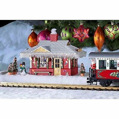 Piko G Scale Model Train Buildings - North Pole Station Built-up - 62265 • 213.01€