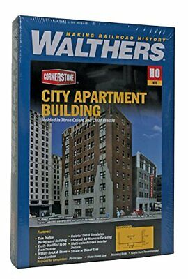 Walthers Trainline City Apartment Building - Kit Train Collectable Train • 73.12€