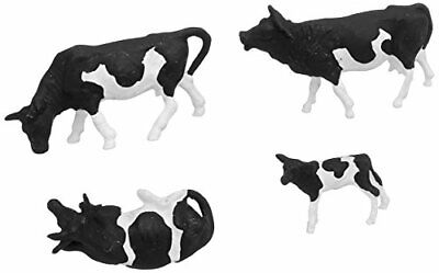 Preiser 14408 Dairy Cows Package(30) Holsteins (black, White) HO Model Figure • 55.43€