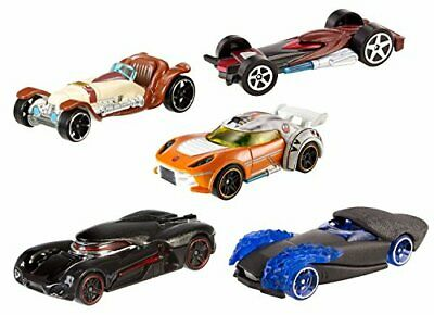 Star Wars Hot Wheels Light Side Vs. Dark Side 5 Car Pack • 63.41€