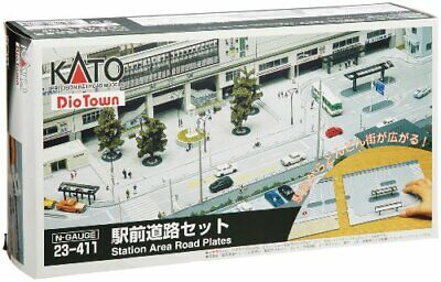 Kato N Scale Dio Town Station Area Road Plates 23411 • 123.46€
