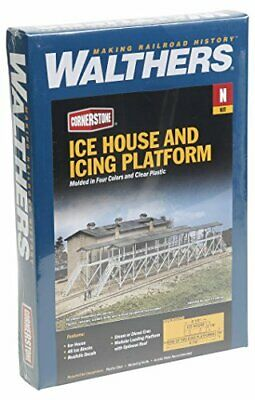 Walthers Trainline Ice House  Icing Platform Kit Collectable Train • 58.50€