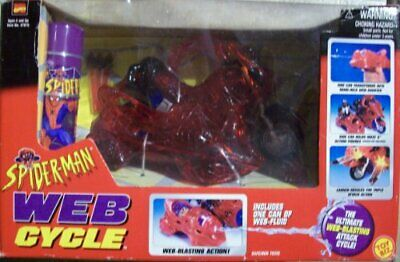SpiderMan Web Cycle The Ultimate WebBlasting Attack Cycle W Web Fluid Included • 102.41€