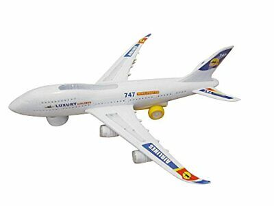 Toyhoo Electric Boeing 747 Kids Action Airplane, Plane With Attractive Lights... • 41.71€