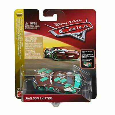 Disney Cars Die Cast Sheldon Shifter With Accessory Card Toy Vehicle • 43.12€