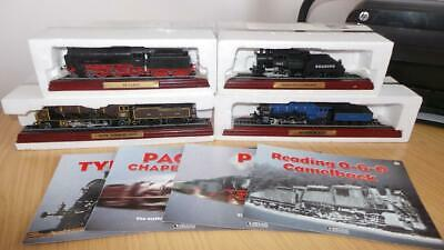 AC22: Collection Of Atlas Editions Static Loco's X 4 • 13.87€