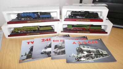 AC24: Collection Of Atlas Editions Static Loco's X 4 • 13.50€