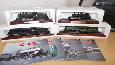 AC23: Collection Of Atlas Editions Static Loco's X 4 • 13.87€