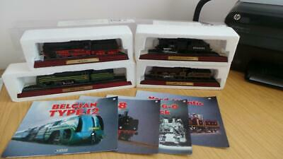 AC18: Collection Of Atlas Editions Static Loco's X 4 • 13.12€