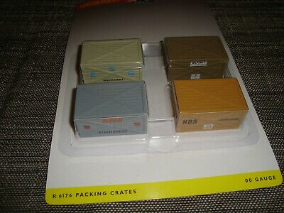 Retro Hornby R6176 Packing Crates - Never Used, Mint In Box • 9.11€