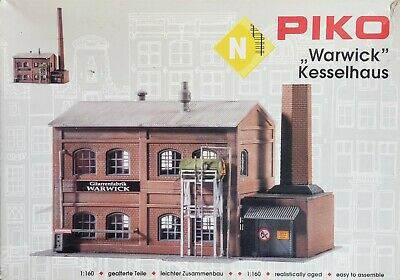 Piko 60014 Buildings & Accessories Industry Fabrique Model Kit Scale 1:160 N New • 44.25€