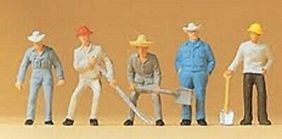 Preiser HO Scale Track Workers • 20.41€