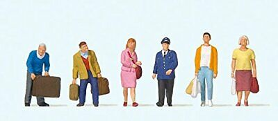 Preiser 10710 Travelers At The Platform Package6 HO Model Figure • 26.70€