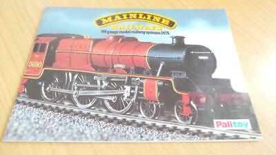 AC310: Mainline Railways OO Gauge Catalogue 1979 • 4.50€