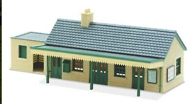 Peco, Country Station Building In Stone, 00 , ** Ready Made ** • 49.15€