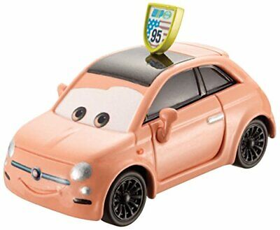 Disney Pixar Cars Fiat With McQueen Sign Diecast Vehicle • 19.96€