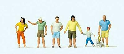Preiser 10672 Passers By In Summer Clothes Package(6) HO Model Figure • 32.39€