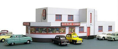 Kingsway, 00 Scale, Little Chef At Wansford ,  ** Ready Made **. • 43.74€
