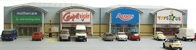 Kingsway, 00 Scale, Retail Park Units, Ready Made. • 49.20€